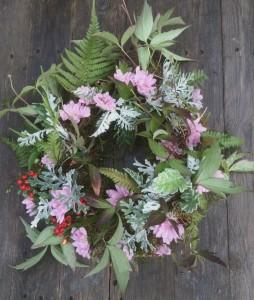 Funeral flowers Birmingham. Tuckshop Flowers specialises in British flowers for green funerals.