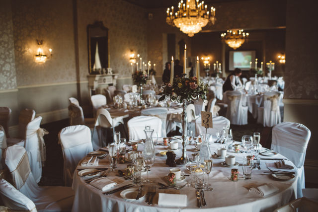 Classic candelabras for English country house setting