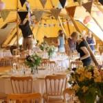 tipi wedding at Alcott Weddings