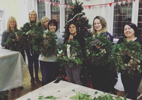 Christmas Wreath Making Workshops Birmingham West Midlands