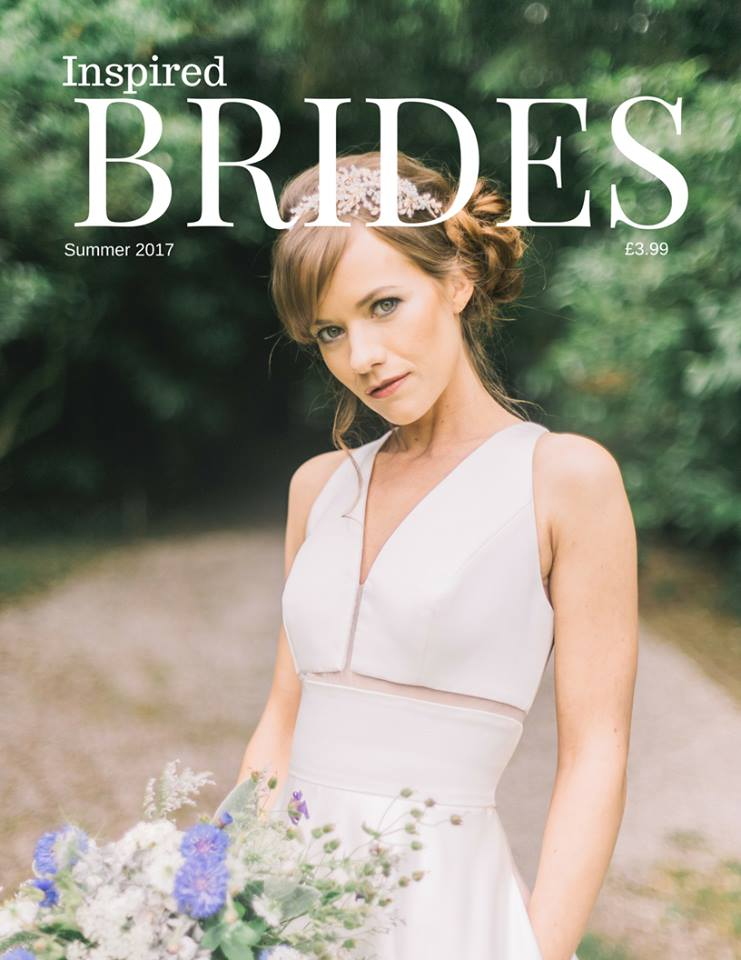 Tuckshop Flowers Featured florist in Inspired Brides Magazine