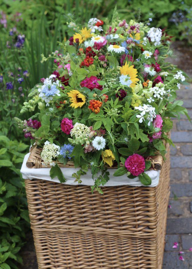 natural funeral flowers South Birmingham by Tuckshop Flowers