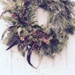 Fresh natural Christmas wreaths and table decorations to order in Bi