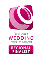 Regional finalist in the florist category - the Wedding Industry Awards
