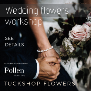 Birmingham Wedding floristry workshop for brides, career florists wanting to explore foam free eco designs for weddings.
