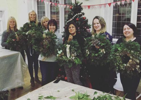 Christmas Wreath Making Workshops Birmingham West Midlands
